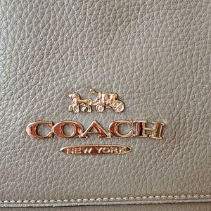 Coach Bags - Coach F31467 Emma Heather Gray Satchel